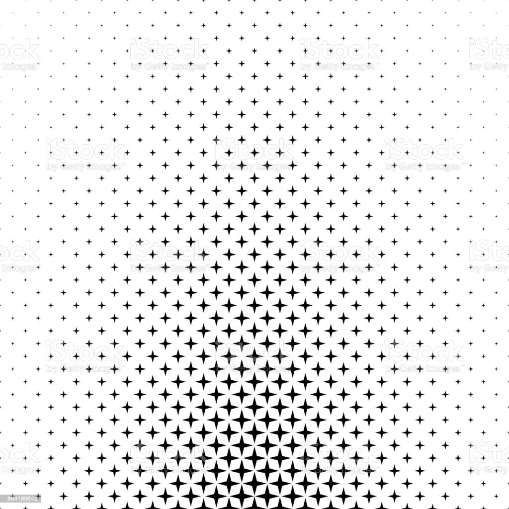 Black white star pattern - abstract background graphic from geometric shapes royalty-free black white star pattern abstract background graphic from geometric shapes stock vector art & more images of abstract