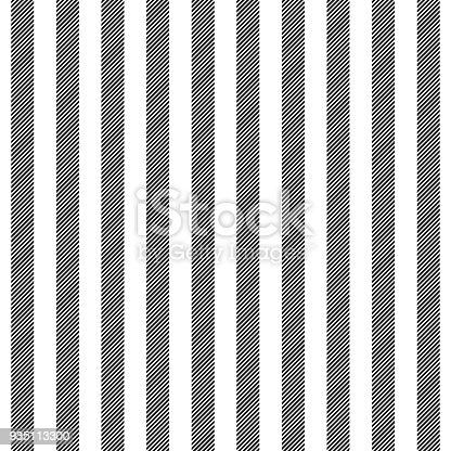 Black White Striped Fabric Texture Seamless Pattern Stock Vector Art