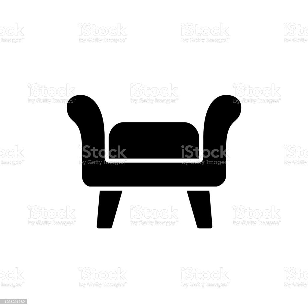 Swell Black White Vector Illustration Of Fabric Ottoman Pouf Flat Andrewgaddart Wooden Chair Designs For Living Room Andrewgaddartcom