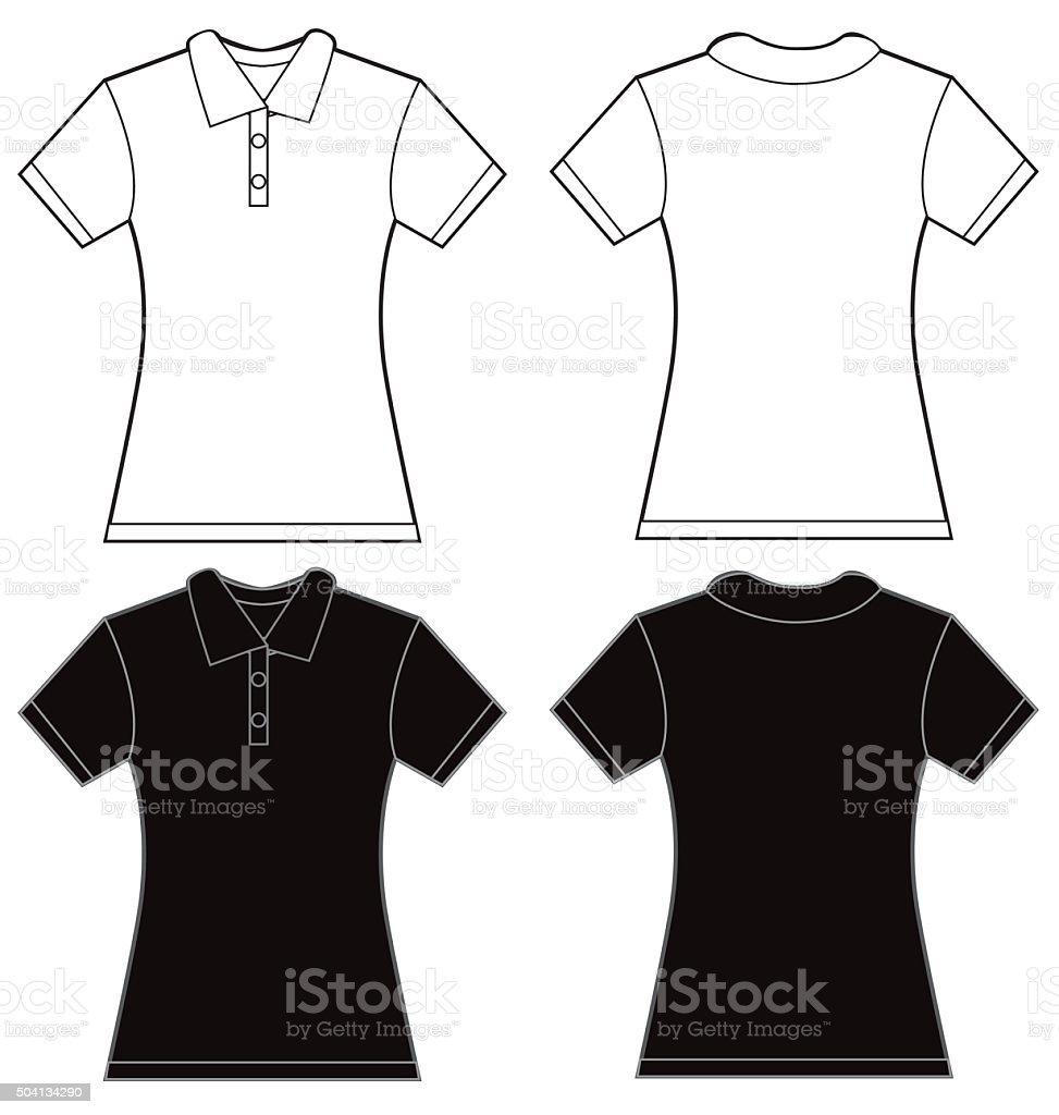 Ilustración de Blanco Y Negro Mujer De Diseño De Plantillas De ...