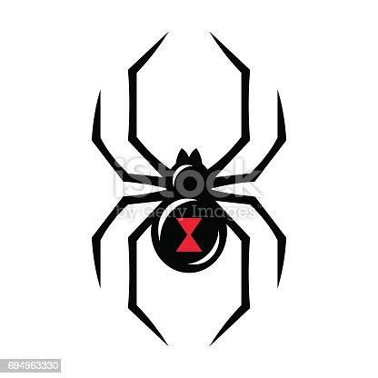 Black Widow Spider Tattoo Design Clipart Free Download