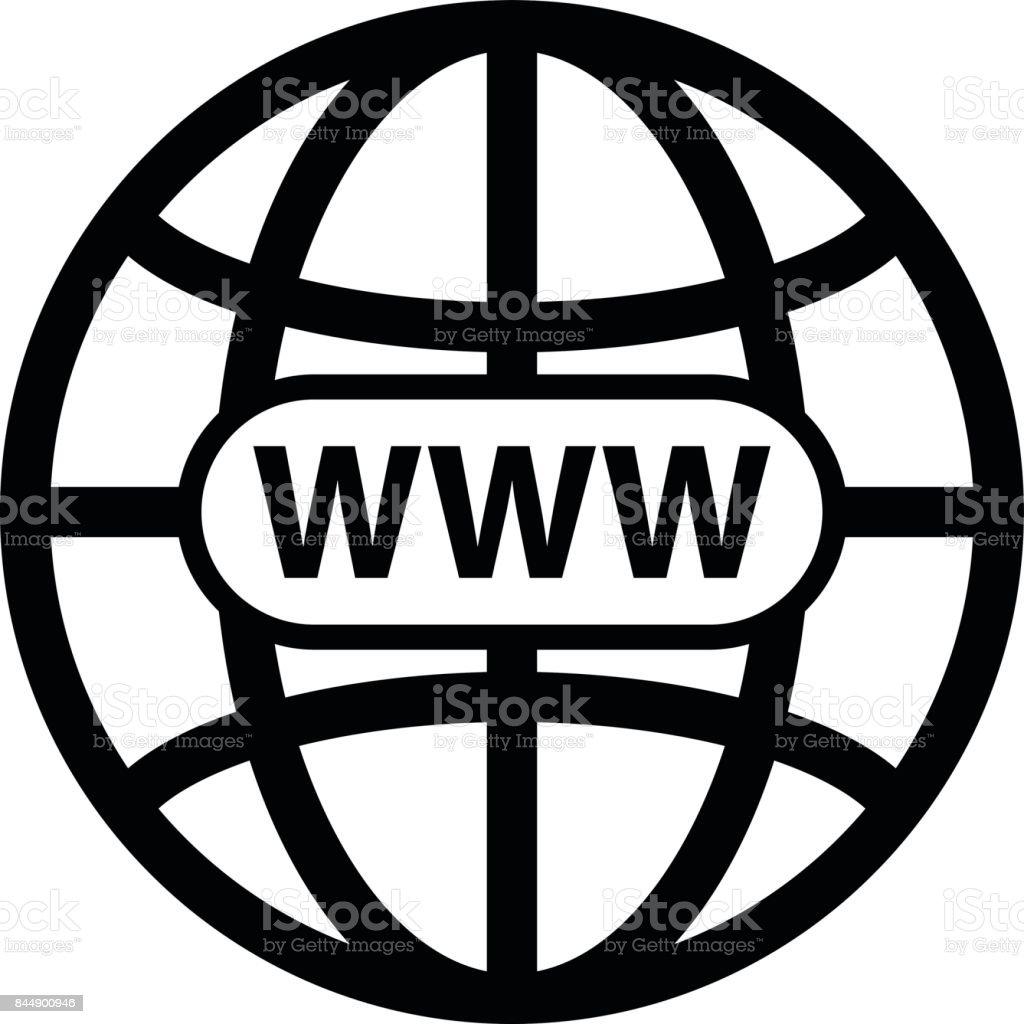 Black world wide web vector icon stock vector art more images of black world wide web vector icon royalty free black world wide web vector icon stock publicscrutiny Choice Image