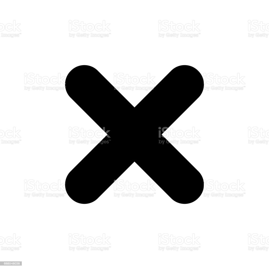 Black x symbol image collections symbol and sign ideas black x mark icon cross symbol stock vector art more images of black x mark icon buycottarizona