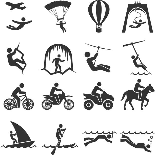 Best Skydiving Illustrations, Royalty-Free Vector Graphics