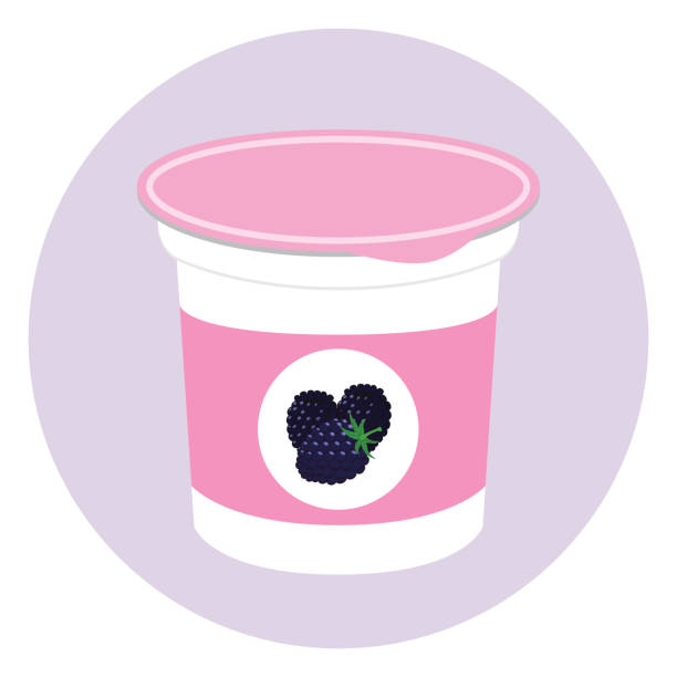 Best Yogurt Cup Illustrations, Royalty-Free Vector ...