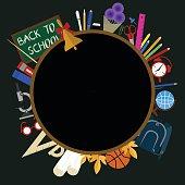 blackboard circle school