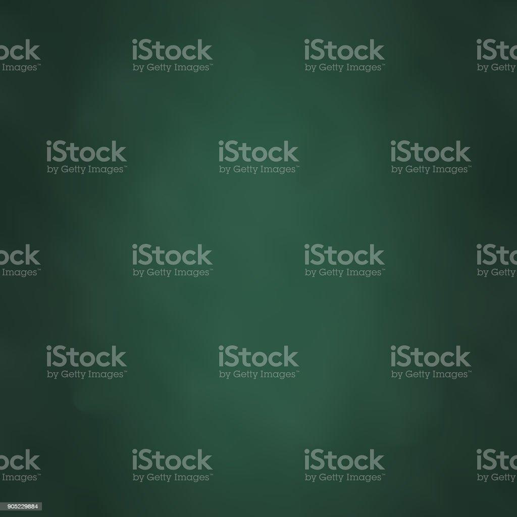 Blackboard Color Green Vector Illustration vector art illustration