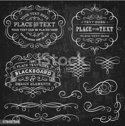 Textured ornate design elements. EPS 10 file with transparencies.File is layered with global colors.High res jpeg included.More works like this linked below.
