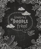 Blackboard Doodle Frame