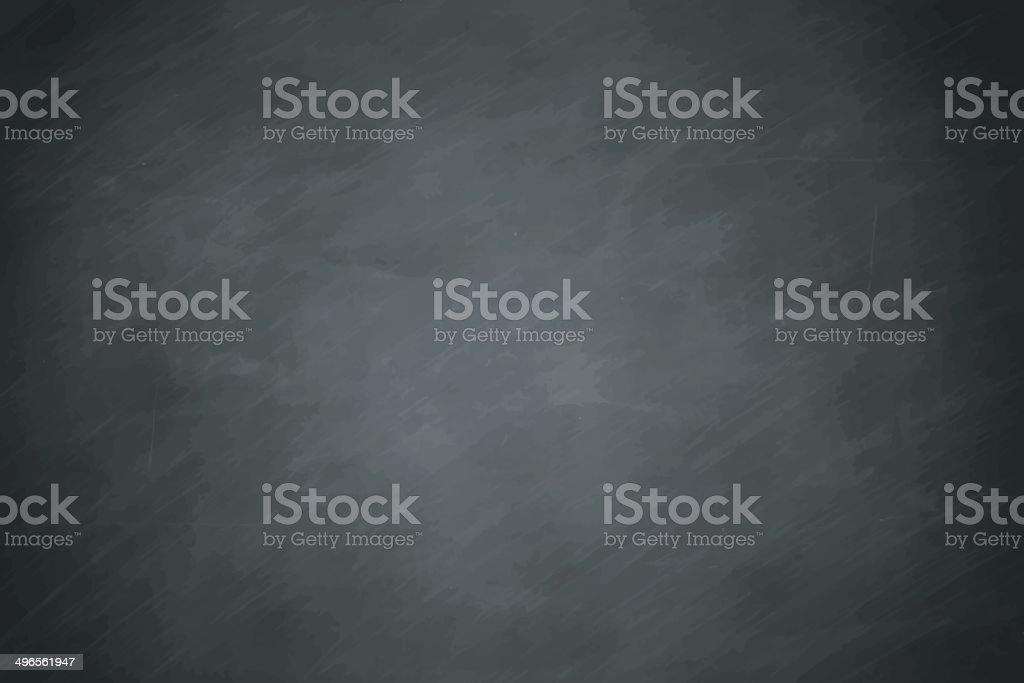 Blackboard vector art illustration