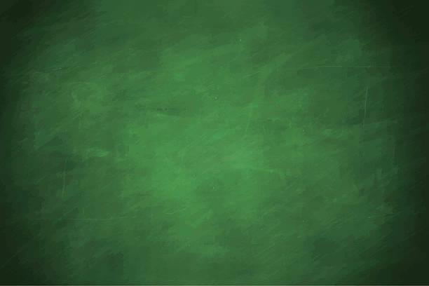 stockillustraties, clipart, cartoons en iconen met blackboard - groene acthergrond