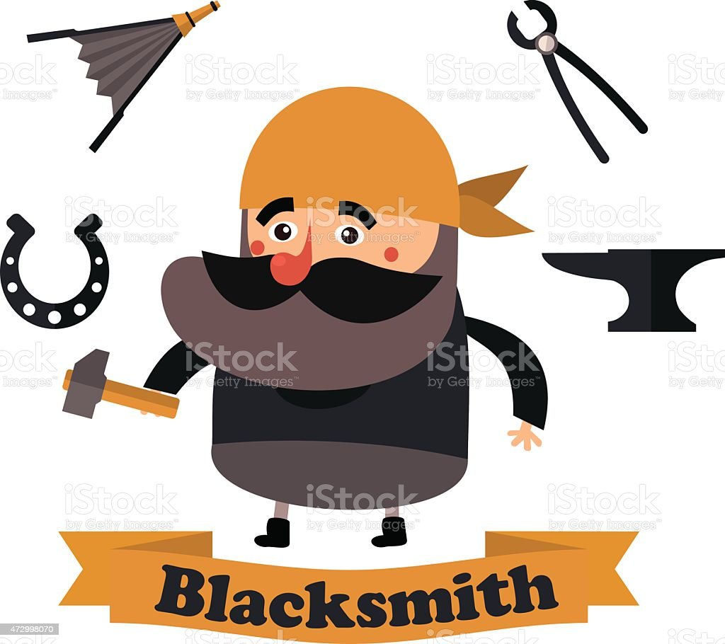 royalty free farrier clip art vector images illustrations istock rh istockphoto com blacksmith clipart black and white blacksmith clipart