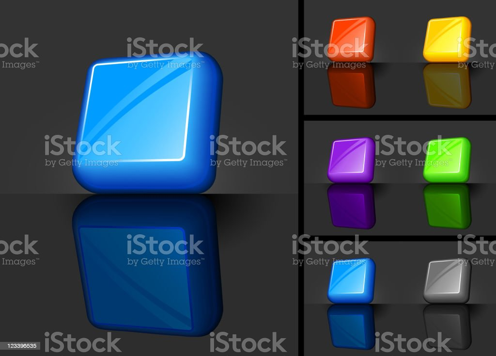 Blank 3D button designs royalty-free blank 3d button designs stock vector art & more images of black color