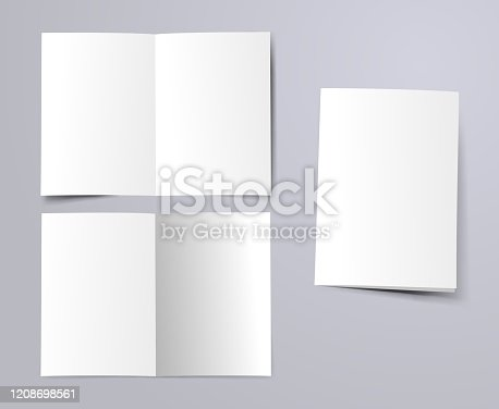 istock blank a4 folded paper 1208698561