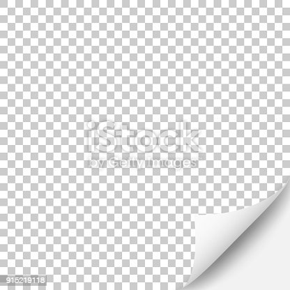 Blank background (for your own design) with a realistic curled corner of paper. Template for your design. With space for your text and your background. The layers are named to facilitate your customization. Vector Illustration (EPS10, well layered and grouped). Easy to edit, manipulate, resize or colorize. Please do not hesitate to contact me if you have any questions, or need to customise the illustration. http://www.istockphoto.com/portfolio/bgblue