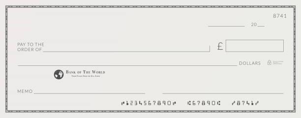 Fake Bank Statement Illustrations Royalty Free Vector