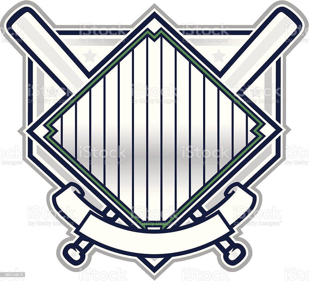 Baseball-Champion design – Vektorgrafik