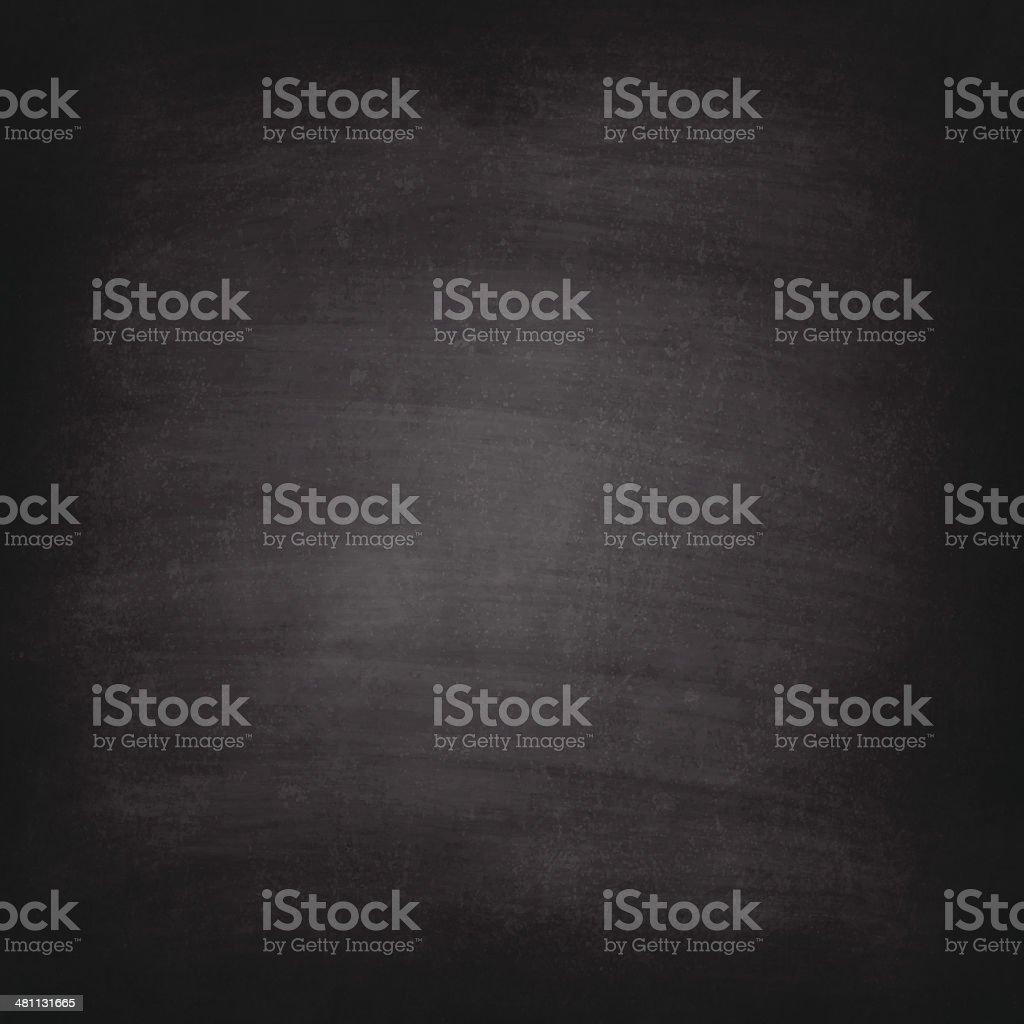 Blank blackboard texture with chalk traces vector art illustration