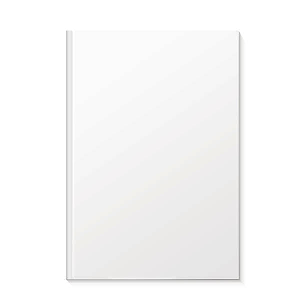 Blank Book Cover Vector Illustration Free : Royalty free blank book cover white clip art vector