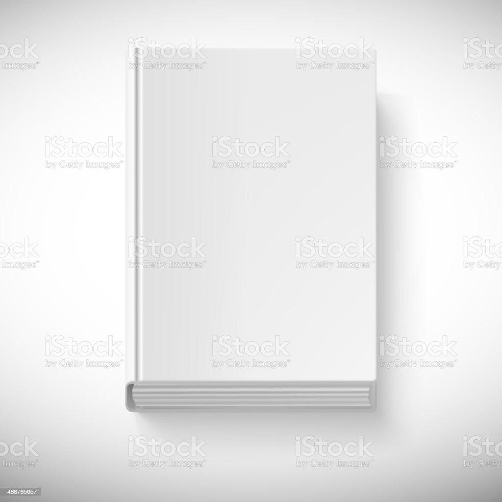 blank book drawn in perspective stock vector art more images of