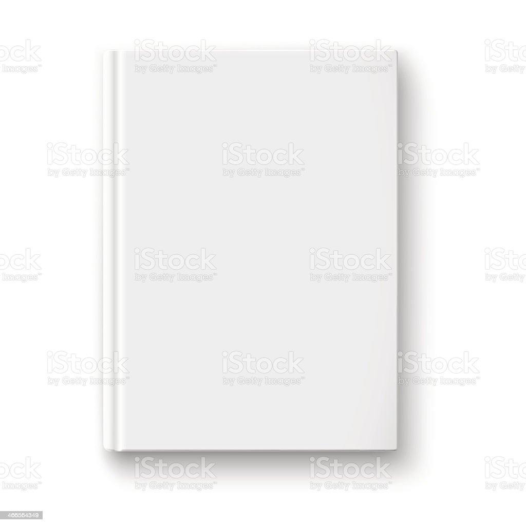 Leere Buch Vorlage Mit Weichen Schatten Stock Vektor Art und mehr ...