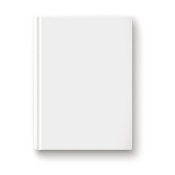 Blank Book Cover Template Ks : Book cover clip art vector images illustrations istock