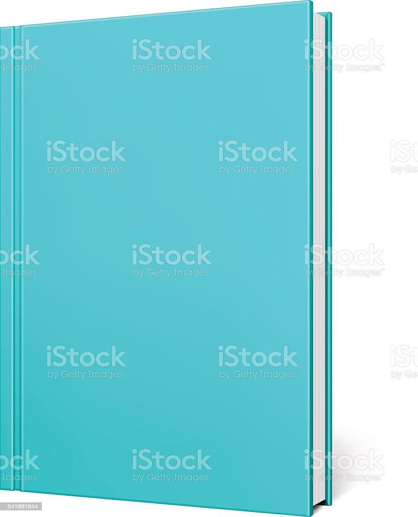 Blank Book vector art illustration