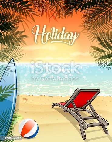 Drawing of vector blank summer season illustrations. Created by illustrator cs6. This file of transparent.