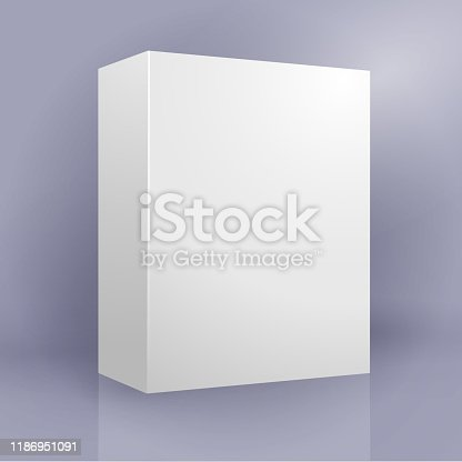 blank box design template