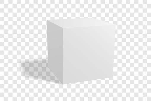 Blank box mockup