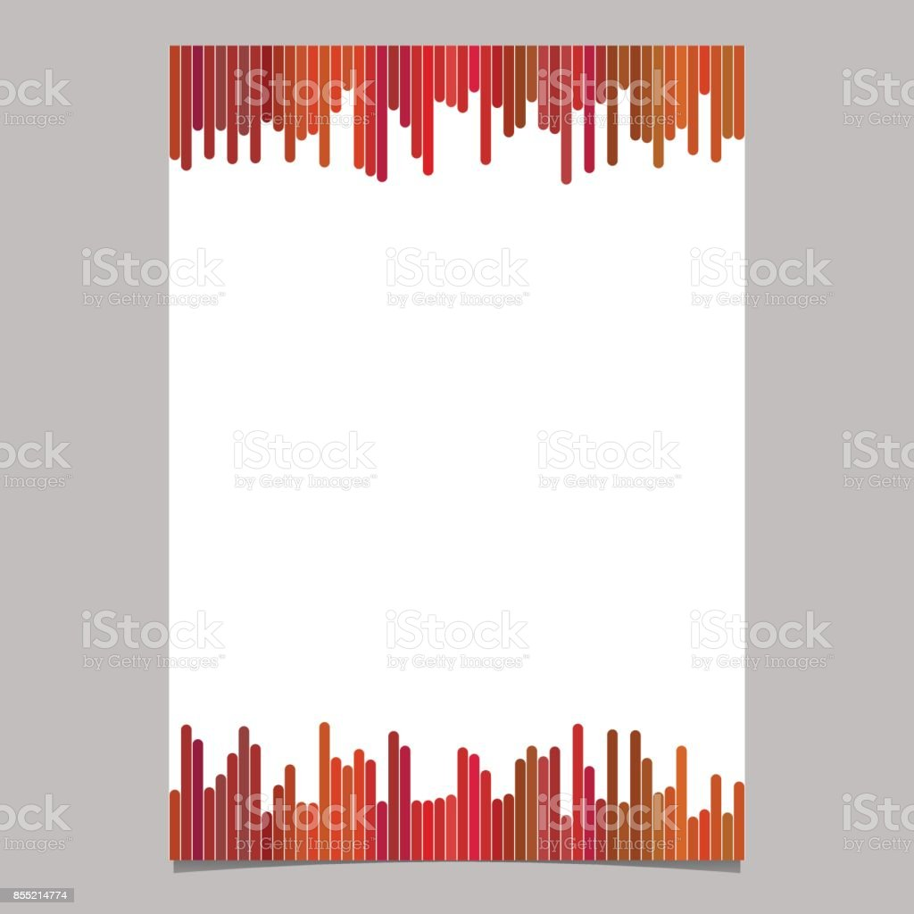 blank brochure template from vertical stripes vector stationery design with white background royalty free - Settlement Brochure Template