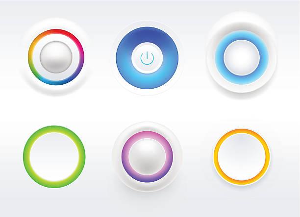 Blank Button vector art illustration