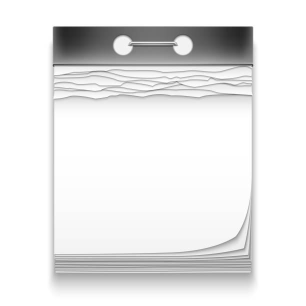 Leeren Kalender Icons – Vektorgrafik