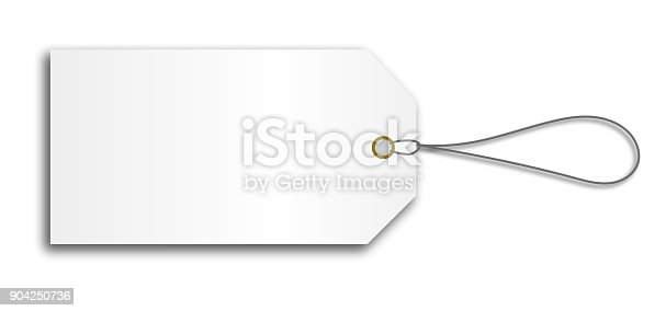 istock blank cardboard price tag lable with string 904250736