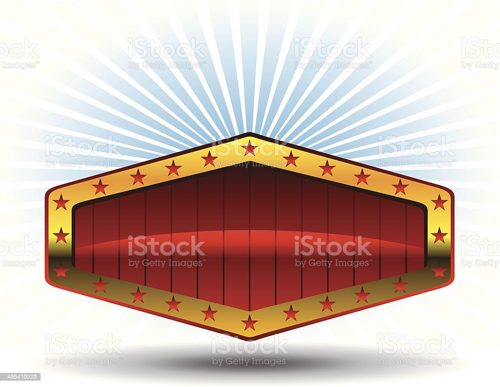 Blank casino billboard graphic royalty-free blank casino billboard graphic stock vector art & more images of activity