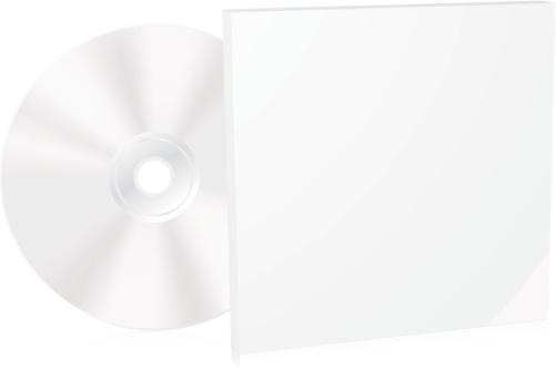 Blank CD box