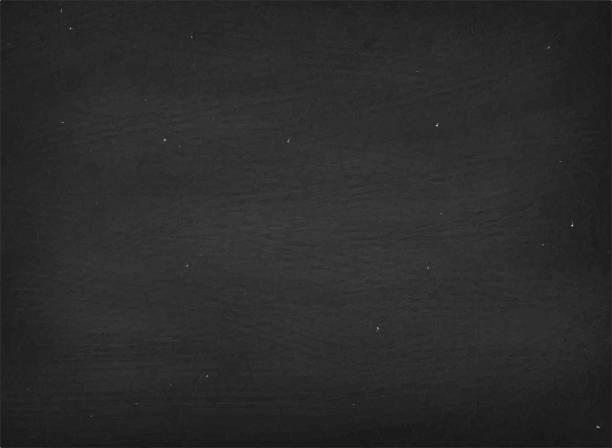 blank chalkboard royalty free vector background in black vector art illustration