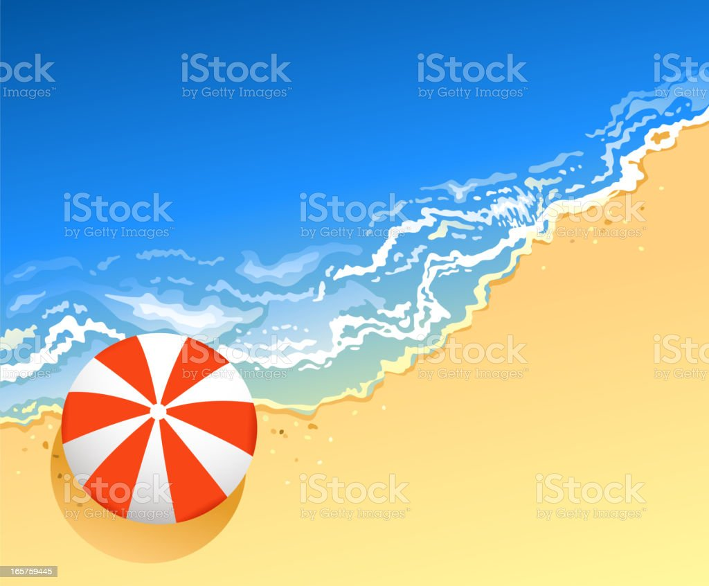 blank coastline royalty-free stock vector art