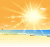 drawing of vector blank beach.This file was recorded with adobe illustrator cs4 transparent.EPS10 format.