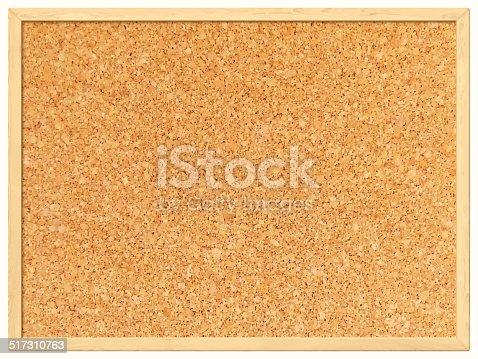 istock Blank Cork Board - Cork Background 517310763