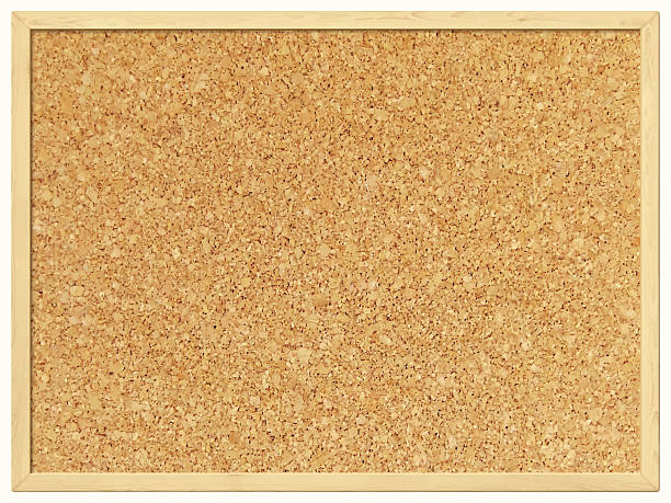 stockillustraties, clipart, cartoons en iconen met blank cork board - cork background - kurk