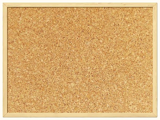 leere cork board-kork-hintergrund - anschlagbrett stock-grafiken, -clipart, -cartoons und -symbole