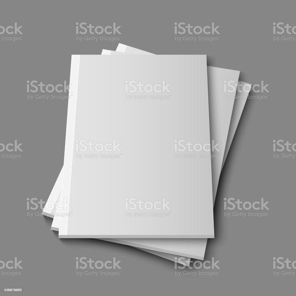 空のマガジンブランクテンプレート のイラスト素材 536878865 istock