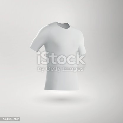 Blank Football Shirt / Soccer Shirt / Fitted T-Shirt Tee