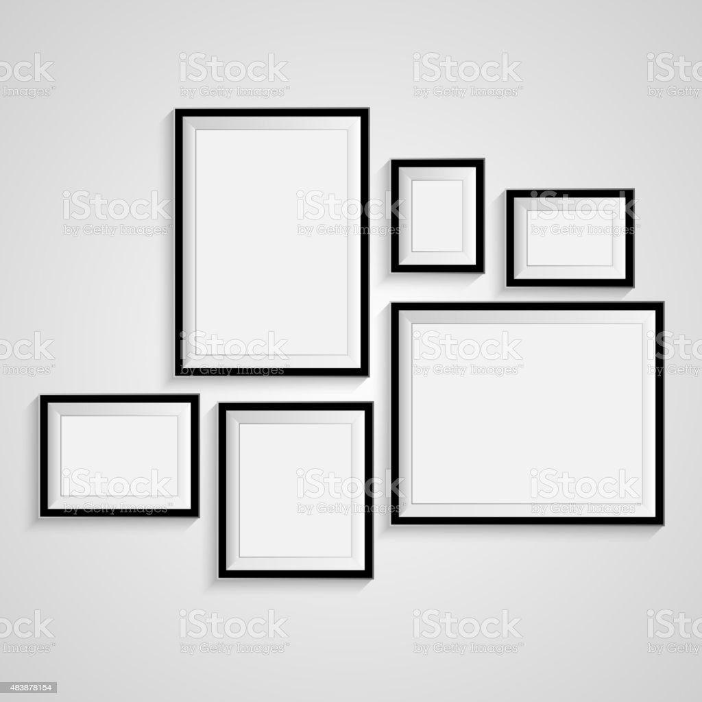 Blank frame on a white background vector stock vector art more blank frame on a white background vector royalty free blank frame on a white jeuxipadfo Gallery