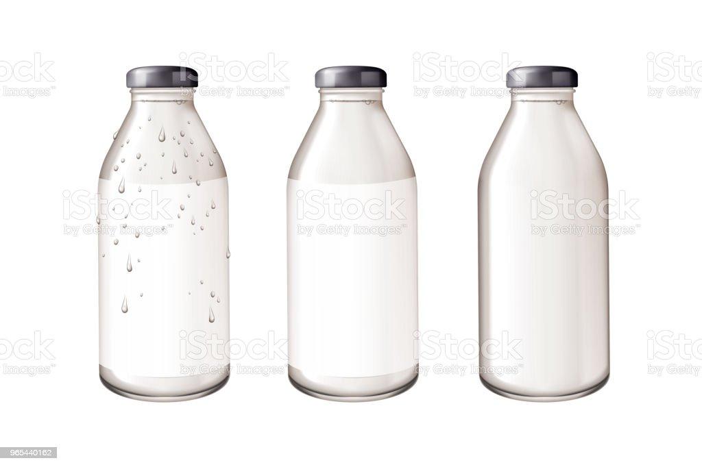 Blank glass bottle mockup royalty-free blank glass bottle mockup stock vector art & more images of blank