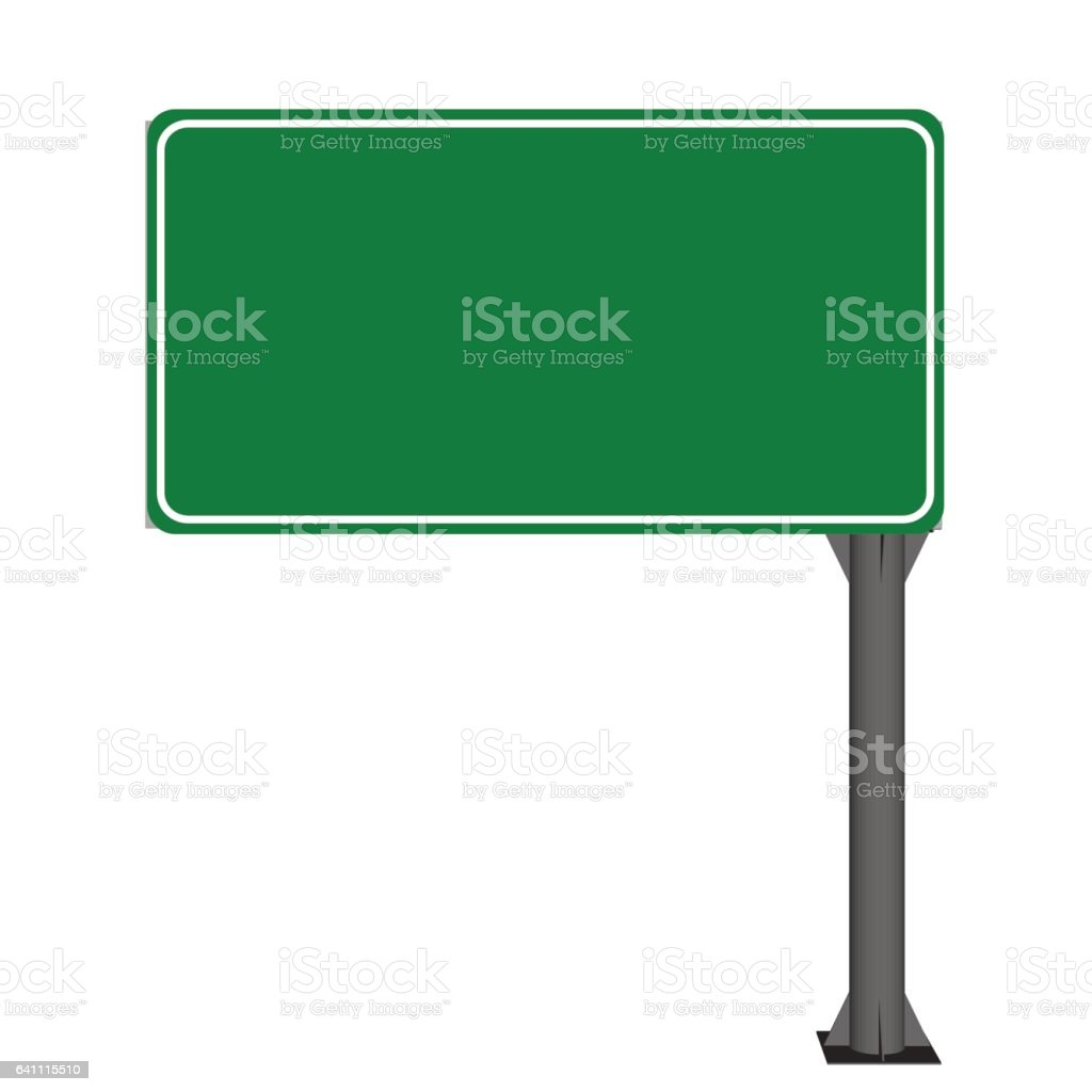 royalty free blank street sign clip art vector images