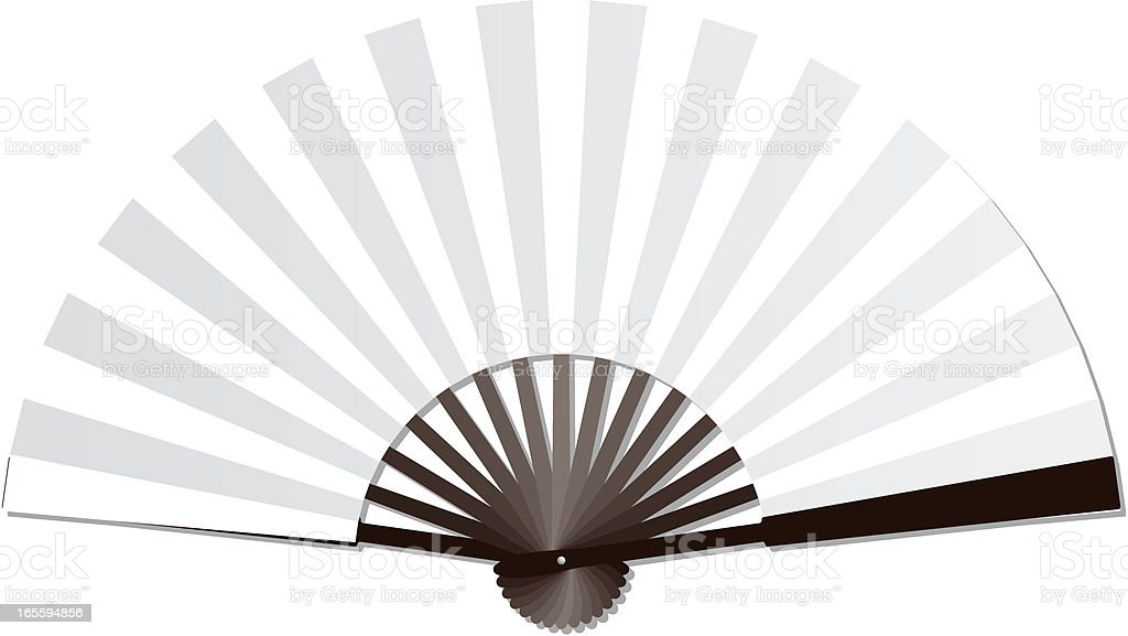 Blank handheld fan royalty-free blank handheld fan stock vector art & more images of arts culture and entertainment