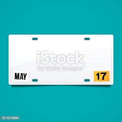 License plate background with space for your copy concept vector. EPS 10 file. Transparency effects used on highlight elements.