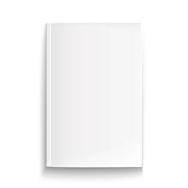 Blank Book Cover Template Ks ~ Royalty free magazine clip art vector images